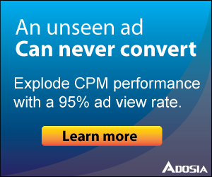 increase CPM performance with viewable impressions
